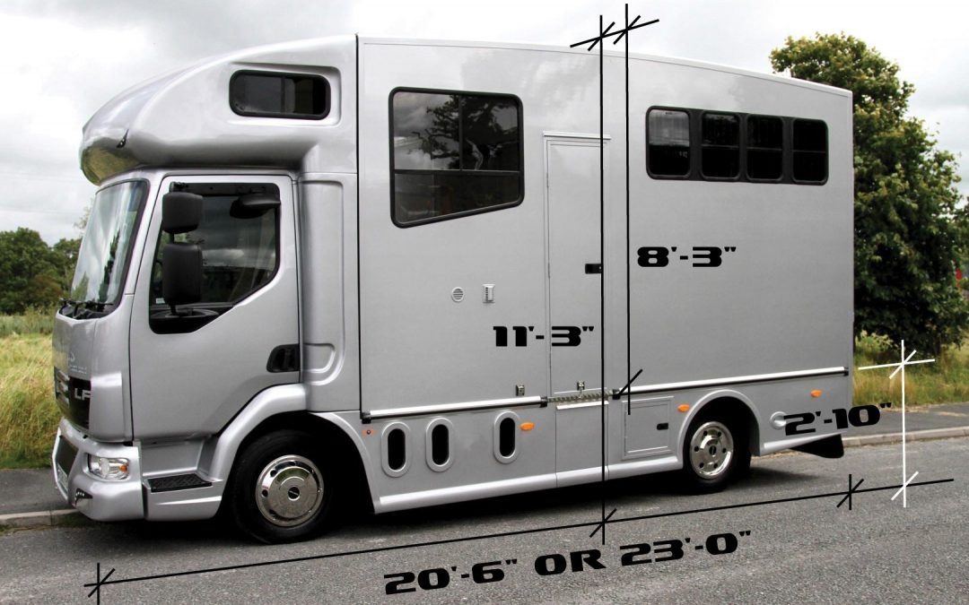 Helios horsebox aerodynamic design