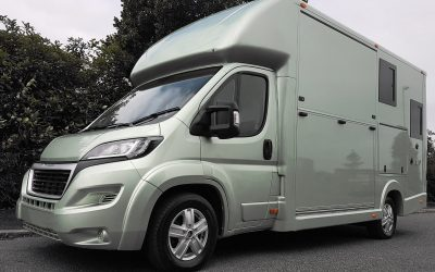 The Aeos Compact ST3.5 horsebox