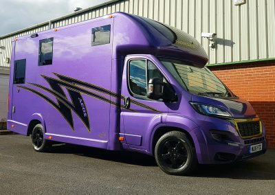 Aeos 4.5 tonne Hybrid in Purple Metallic