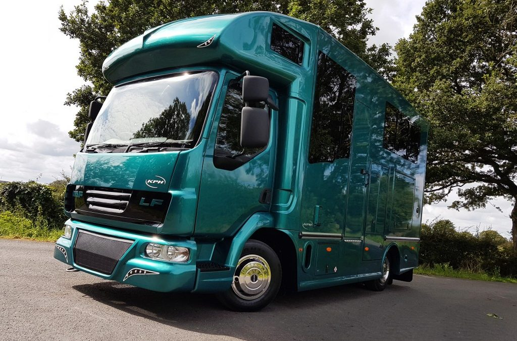 Ambitious growth plans at Kevin Parker Horseboxes
