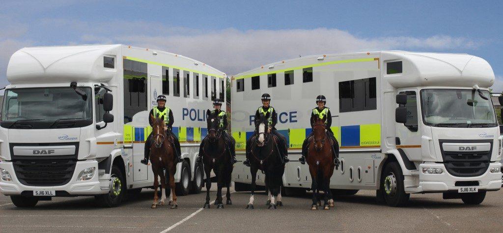 HGV Helios - Police Scotland