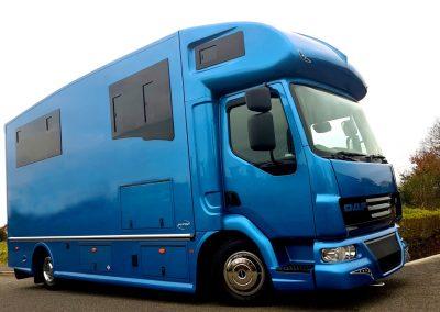 Helios 7.5 tonne horsebox