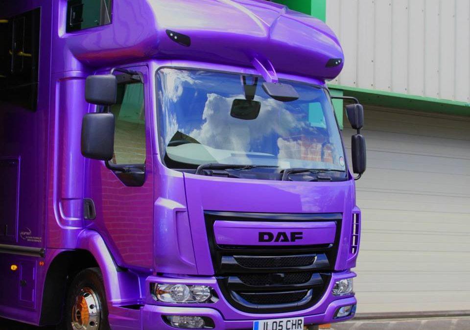 DAF chassis – Helios horsebox