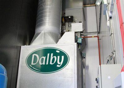 KPH sprayshop Dalby plant room