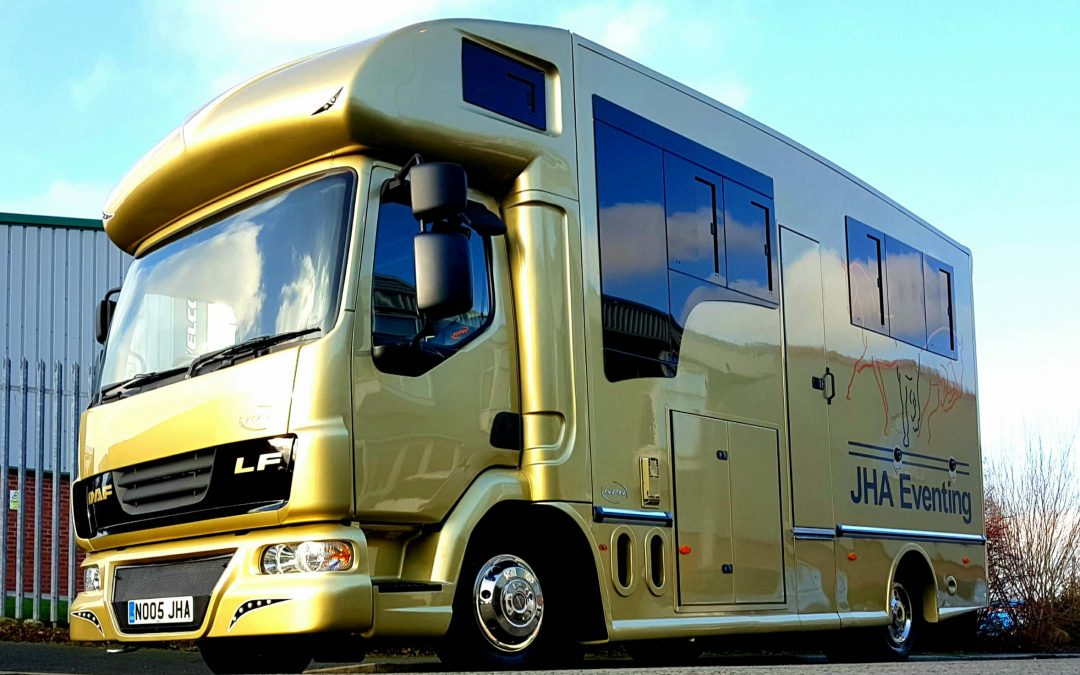 Deciding to buy a horsebox