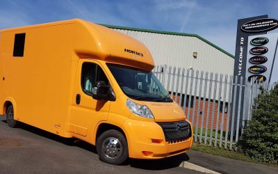 The Aeos 3.5 tonne QV3.5 horsebox