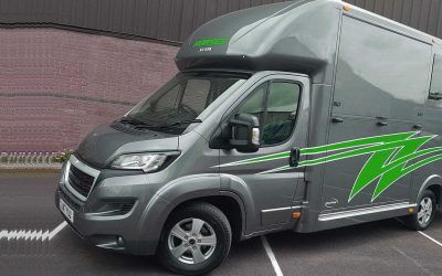 The Aeos 4.5 tonne QV ST4.5 horsebox