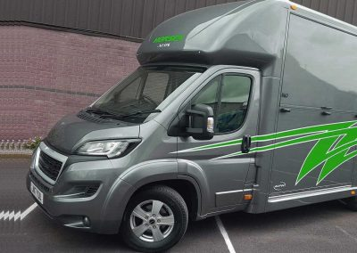 Aeos 4.5 tonne horsebox in Grey