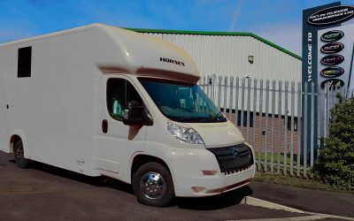 The Aeos QV4.5 horsebox