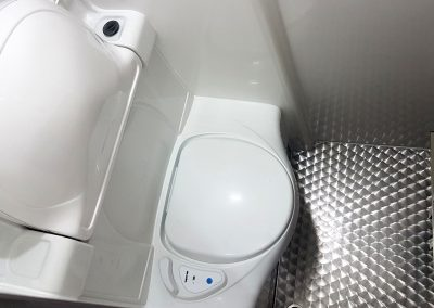 Aeos Weekender - toilet area