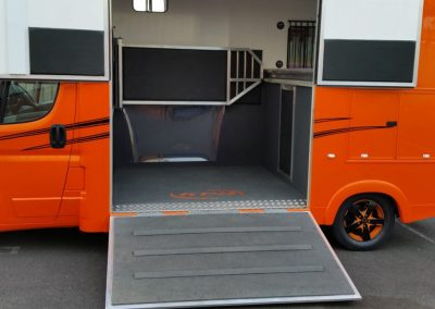 Coat-X on KPH horsebox ramp