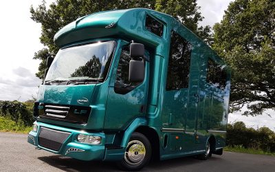The Compact Helios 7.5 tonne horsebox – Big in a small package
