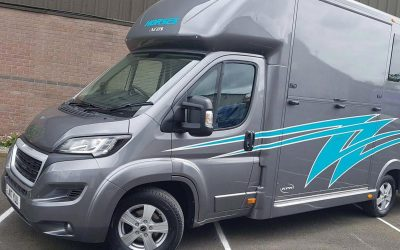 The Aeos 3.5 tonne QV ST3.5 horsebox