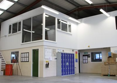 KPH office and workshop
