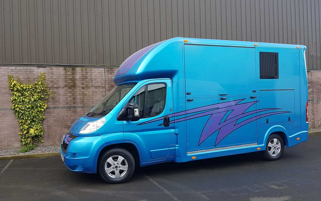 Aeos horsebox range – weights and licence requirements