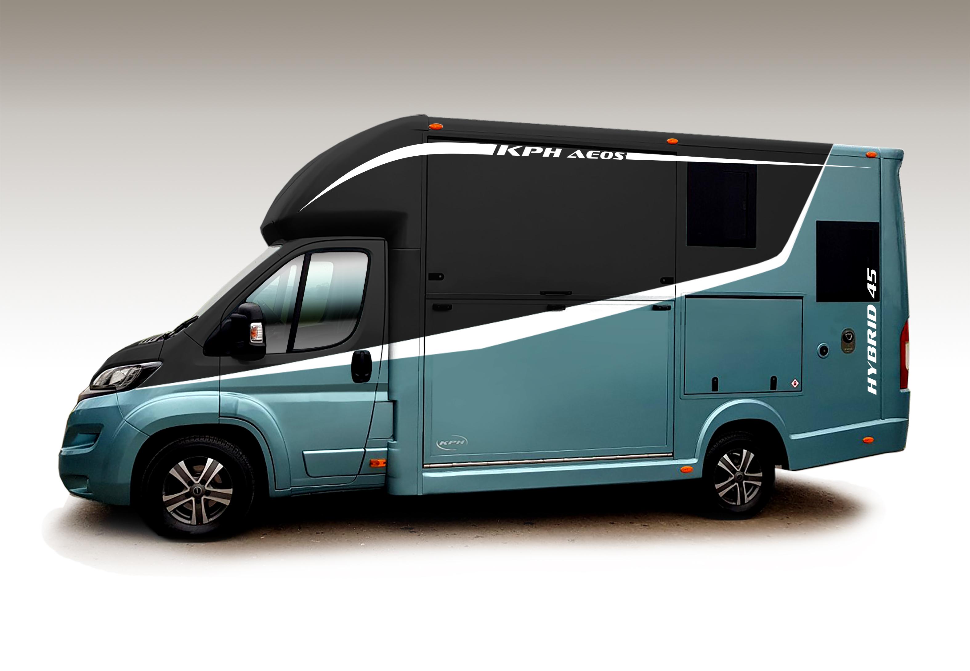 KPH Aeos Hybrid 4.5 in Blue