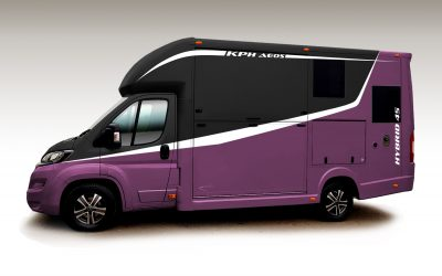New Aeos Horsebox 2020 design