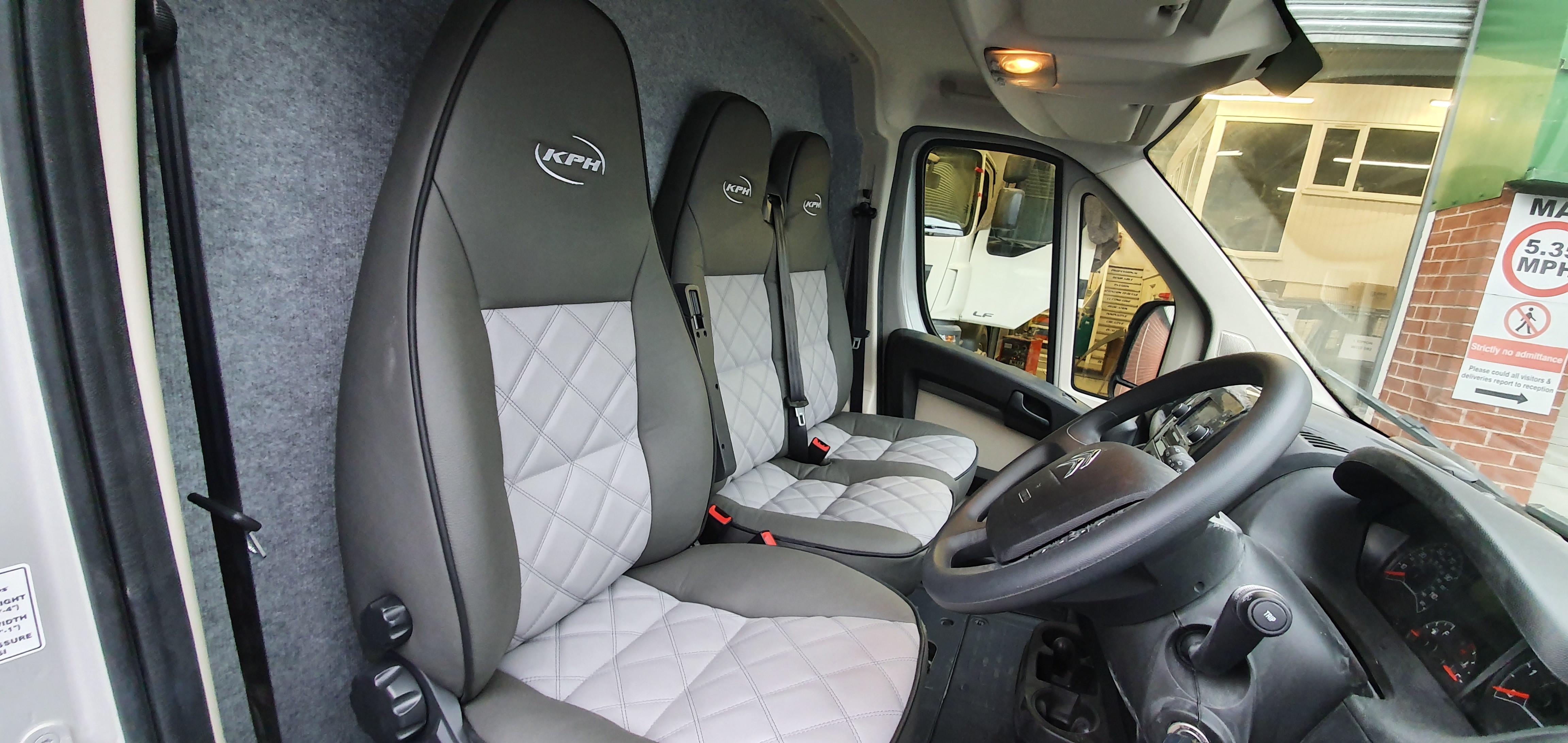 KPH Aeos Compact 4.5 cab interior