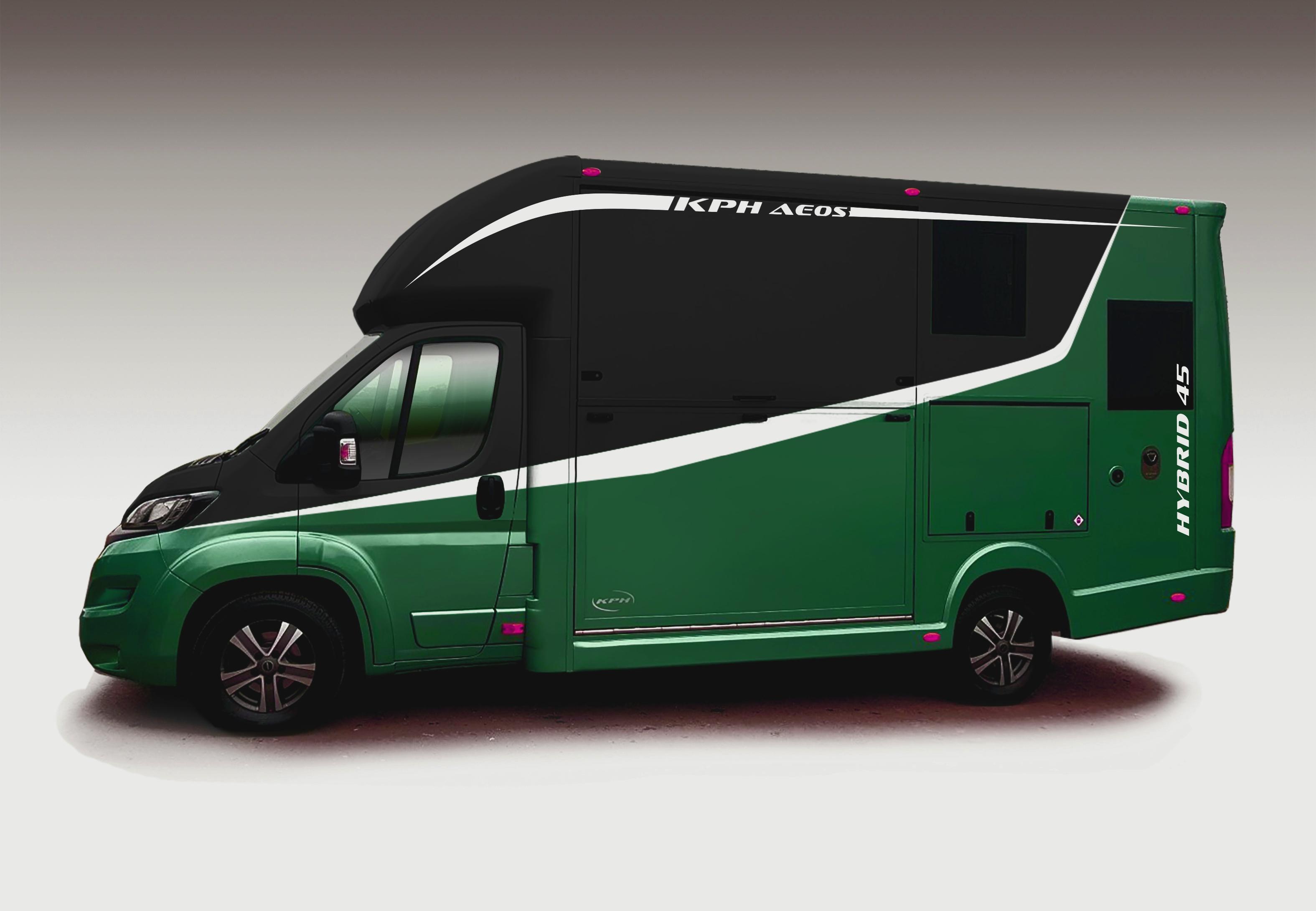Aeos Hybrid 4.5 in Green