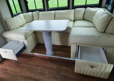 Helios HGV Seating area