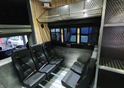 Helios HGV Police - Crew Seating