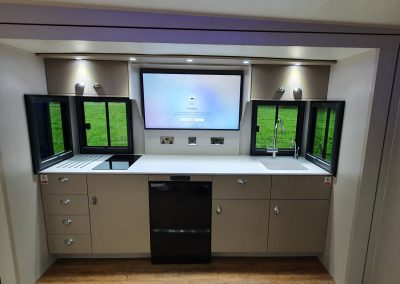 Kinkell Helios HGV - kitchen area